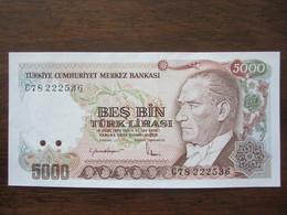 TURQUIE 5000 LIRASI 14/10/1970 UNC - Turquia