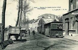 RPCP : Aalst, Alost, Station Du Chemin De Fer Vinicial, Alost-Assche, Foto Van Oude Postkaart - Lieux