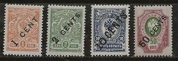 Russie 1917 N° Y&T :   36,37,41 Et 47 ** - China
