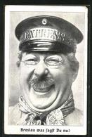 AK Breslau, Schauspieler Henry Bender Aus Dem Victoria-Theater - Schlesien