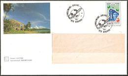 PAP Lot De 1 PAP Guyane  Oblitération BT 16 Avril 1998 Kourou 973 Lancement Ariane   N° 889 Lot 436/001  - Prêt à Poster - Guyane Française (1886-1949)