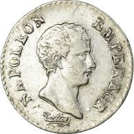 Monnaie, France, Napoléon I, 1/4 Franc, An 12, Paris, TTB, Argent, KM:654.1 - France