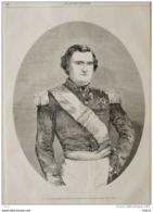 Napoléon III -  S.A.I. Le Prince Napoléon - Page Original 1859 - Historical Documents