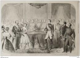 Napoléon III - Signature Du Contrat De S.A.I. Le Prince Napoléon Et De S.A.R. La Princesse Clotilde - Page Original 1859 - Historical Documents
