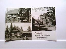 AK Potsdam Russische Kolonie  Alexandrowka   Mehrbildkarte Gelaufen. - Duitsland