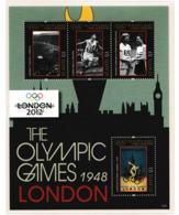 St. Kitts 2012 Olympic Games London Souvenir Sheet MNH/** (H44-LARGE) - Sommer 2012: London