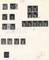B1-N°83, 85, 87 Et 88 - 1876-1898 Sage (Type II)