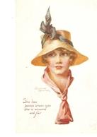 """·Winifrd Wimbush. Pretty Ldy. A Winsome Lassie""""Tuck Oilette PC # 8882 - Tuck, Raphael"""