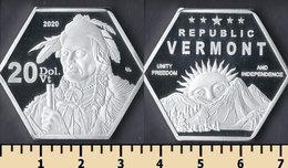 Vermont Republic 20 Dollars 2020 - Altri