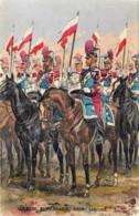 France - Garde Impériale - 1859 - Lanciers - Illustrateut Maurice Toussaint - Uniformes