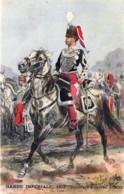 France - Garde Impériale - 1857 -Chasseurs à Cheval - Officier - Illustrateut Maurice Toussaint - Uniformes