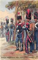 France - Garde Impériale - 1857 Génie Et Train Du Génie - Illustrateut Maurice Toussaint - Uniformes