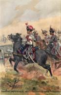France - Garde Impériale - 1857 - Artilerie à Cheval  - Trompette - Illustrateut Maurice Toussaint - Uniformes