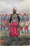 France - Garde Impériale - 1863 - Zouaves - Tambour-Major- Illustrateut Maurice Toussaint - Uniformes