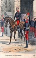 France - Cuirassiers - Petite Tenue- Illustrateut Maurice Toussaint - Uniformes