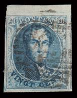 COB N° 11A TB - Bien Margé Avec 1 Voisin - Bord De Feuille - Emplacement N°5 Sur Planche N°VI. - 1849-1865 Medallions (Other)