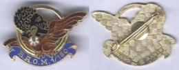 Insigne De La Base Aérienne D'Outre Mer 1/160 - Dakar - Armée De L'air