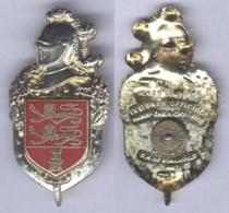 Insigne De La Compagnie De Circulation Routière De Gendarmerie De Basse Normandie - Policia