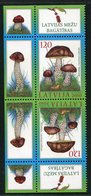 SALE Latvia 2010 Mi 793 Tet-bech MNH  Mushrooms - Funghi