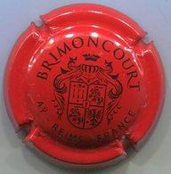 CAPSULE-CHAMPAGNE BRIMONCOURT N°03 Rouge & Noir Insc Contour - Champagne
