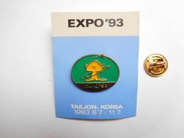 Beau Pin's , Exposition Internationale De Taejon Ou Daejeon Expo'93 , Corée Du Sud , South Korea - Steden