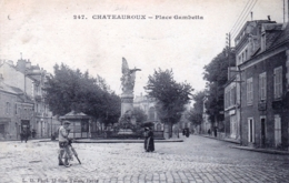36 - Indre - CHATEAUROUX - Place Gambetta - Chateauroux