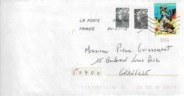 TP N° 3547avec 2 Marianne Sur Enveloppe De Toulouse - Postmark Collection (Covers)
