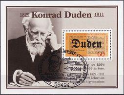 DEUTSCHLAND 1980 Mi-Nr. 1039 Auf Vignette Konrad Duden - BRD