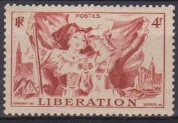Libération - FRANCE - Alsace Et Lorraine, Cathédrales De Metz Et Strasbourg - 1945 - N° 739 ** - France