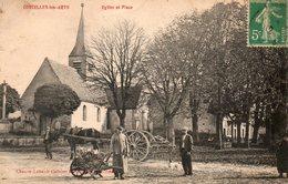 CORCELLES-les-ARTS - Eglise Et Place - - Autres Communes
