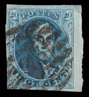 COB N° 11A TB - Bien Margé - Bord De Feuille - Emplacement N°20 Sur Planche N°VI. - 1849-1865 Medallions (Other)