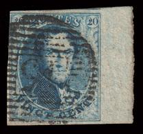 COB N° 11A TB - Bien Margé - Bord De Feuille - Emplacement N°100 Sur Planche N°III. - 1849-1865 Medallions (Other)