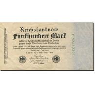 Billet, Allemagne, 500 Mark, 1922, 1922-07-07, KM:74b, SPL - [ 3] 1918-1933 : République De Weimar