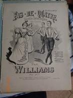 Pas- De-quatre Nouvelle Danse Anglaise Avec Théorie Par WILLIAMS - Partitions Musicales Anciennes