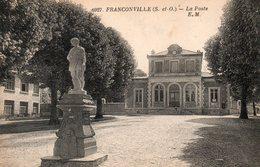 FRANCONVILLE - La Poste - - Franconville