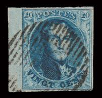 COB N° 11A TB - Bien Margé - Bord De Feuille - Emplacement N°161 Sur Planche N°VI. - 1849-1865 Medallions (Other)