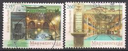 Ungarn  (2012)  Mi.Nr.  5547 + 5548  Gest. / Used  (4gd03) - Ungarn