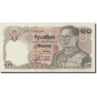 Billet, Thaïlande, 10 Baht, 1978-1981, 1980, KM:87, SPL - Thailand