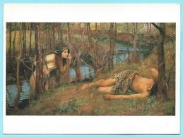 1084 - JOHN WILLIAM WATERHOUSE - A NAIAD - Malerei & Gemälde