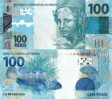 Brazil, 100 Reais, P257b, 2010, UNC - Brazil