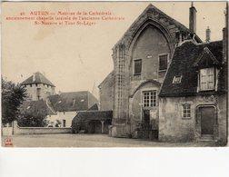 Autun  -  Maitrise De La Cathedrale St-Nazaire Et Tour St-Leger -  CPA - Autun