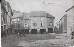 NAUCELLE ( ArrT. De Rodez-Aveyron ) La Place Animée - Other Municipalities