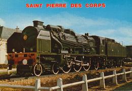Saint Pierre Des Corps (37) Locomotive 231 E 41 - Gares - Avec Trains
