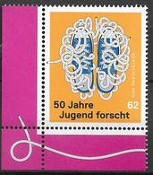 """2015 Deutschland Allem. Fed.  Mi. 3160 **MNH EUL  50 Jahre Wettbewerb """"Jugend Forscht"""" - [7] Repubblica Federale"""