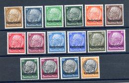 Allemagne - Série Neuve** - Occupation LOTHRINGEN - (F969) - Unused Stamps