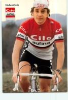 Hubert SEIZ . 2 Scans. Cyclisme. Cilo Aufina - Ciclismo