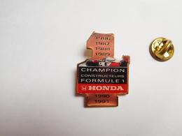 Beau Pin's , Auto F1 , Formule 1 , McLaren Honda , Shell , Championnat Des Constructeurs - F1