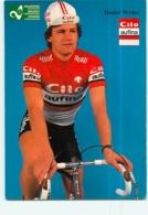 Daniel WYDER . 2 Scans. Cyclisme. Cilo Aufina - Cycling