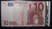 10 EURO G001C5 Netherlands  Serie P Duisenberg Perfect UNC - EURO