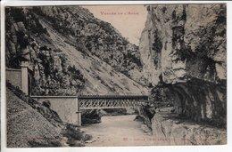 Cpa Defile De Pierre Lys Sortie Du Tunnel - France